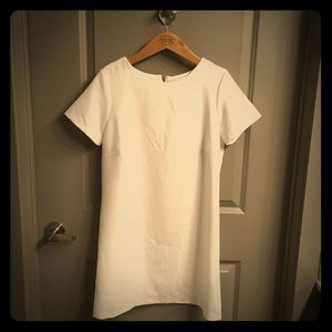 Lulus White Short Sleeve Mini Dress NWOT
